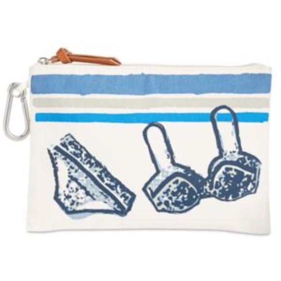 Style & Co Handbags - Style & Co Small Canvas Water Resistant Pouch-NWT